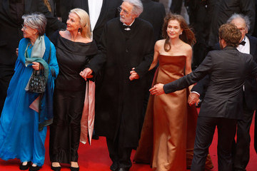 """Isabelle Huppert Nadine Trintignant """"Amour"""" Premiere - 65th Annual Cannes Film Festival"""