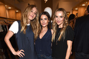 Elizabeth Gilpin, Julia Cohen and Jennifer Cohen attend the Amour Vert x Swith Boutique celebration at Switch Boutique on March 26, 2015 in Beverly Hills, California.