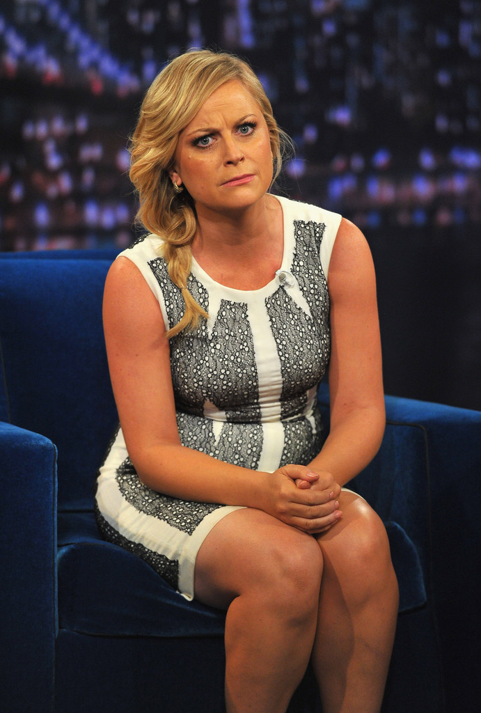 Amy poehler photos photos amy poehler visits quot late night with jimmy