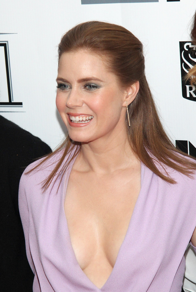Hair envy of the day amy adams modern half updo celebrity hair