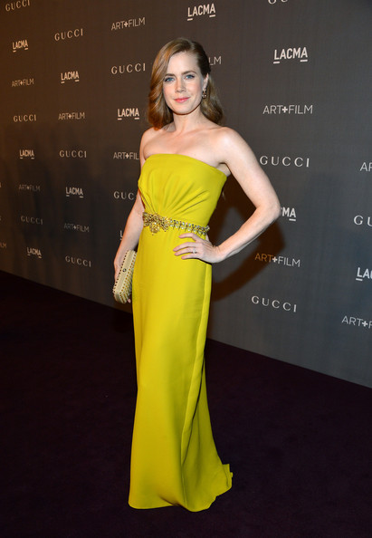 Amy Adams - LACMA 2012 Art + Film Gala Honoring Ed Ruscha And Stanley Kubrick Presented By Gucci - Red Carpet