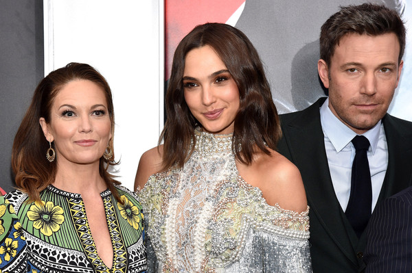 The Launch of Bai Superteas at the 'Batman v Superman' Premiere [event,fashion,premiere,suit,fashion accessory,family pictures,fashion design,bai superteas,ben affleck,gal gadot,diane lane,l-r,new york city,batman v superman: dawn of justice,launch,batman v superman premiere,premiere]