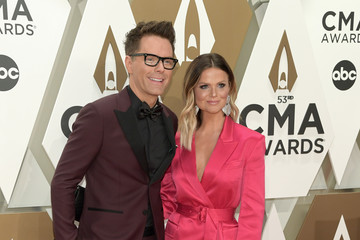 Amy Brown Bobby Bones The 53rd Annual CMA Awards - Arrivals