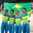 Amy Cure Cycling - Commonwealth Games Day 1