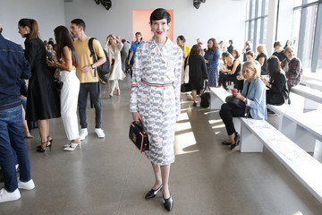 Amy Fine Collins Bibhu Mohapatra - Front Row - September 2019 - New York Fashion Week: The Shows