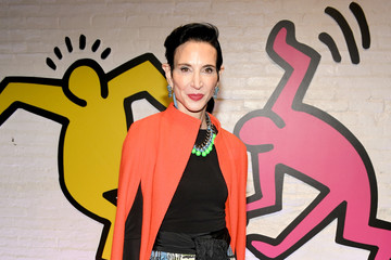 Amy Fine Collins Stacey Bendet And Paris Jackson Celebrate The Launch Of Keith Haring x Alice + Olivia