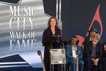 Amy Grant 2019 Music City Walk Of Fame Induction Ceremony