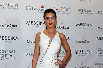 Amy Jackson Eva Longoria Attends the Global Gift Gala - The 70th Annual Cannes Film Festival