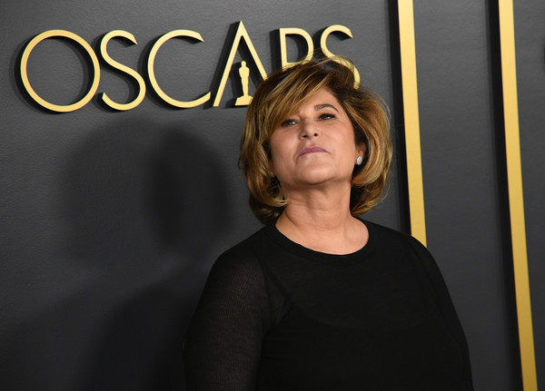 92nd Oscars Nominees Luncheon - Arrivals [yellow,blond,smile,photography,arrivals,nominees,amy pascal,hollywood,california,oscars,oscars nominees luncheon,92nd academy awards,socialite,human behavior,artist,festival,behavior,human,jpeg,2020,academy awards]