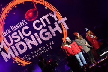 Amy Purdy Jack Daniel's Music City Midnight: New Year's Eve in Nashville