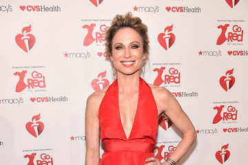 Amy Robach The American Heart Association's Go Red For Women Red Dress Collection 2019 Presented By Macy's - Arrivals & Front Row