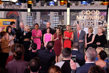 Amy Robach Ginger Zee 'Good Morning America's' 40th Anniversary