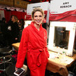 Amy Robach The American Heart Association's Go Red For Women Red Dress Collection 2019 - Backstage