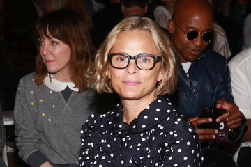 Amy Sedaris Adam Selman - Front Row - September 2017 - New York Fashion Week Presented By MADE
