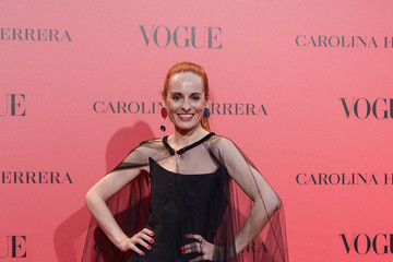 Ana Locking Vogue 30th Anniversary Party In Madrid