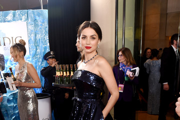 Ana de Armas Icelandic Glacial at the 77th Annual Golden Globe Awards On January 5, 2020 At The Beverly Hilton