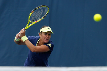 Anabel Medina Garrigues Bank of the West Classic - Day 2