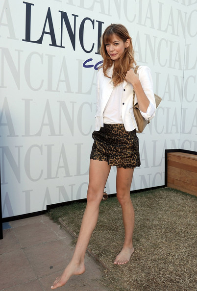 Celebrities At The Lancia Cafe - September 9, 2011
