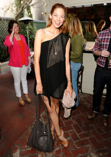 Analeigh Tipton Actress Analeigh Tipton attends the Details Magazine/Ryan Reynolds Party at Dominick's Restaurant on June 6, 2011 in Los Angeles, California.