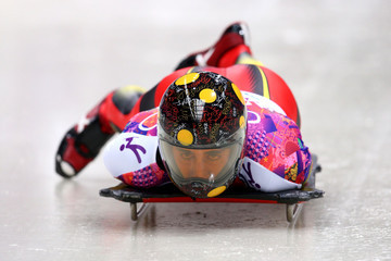 Ander Mirambell Skeleton - Winter Olympics Day 8