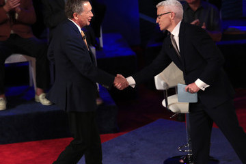 Anderson Cooper GOP Presidential Candidates Take Part in CNN Town Hall in Milwaukee