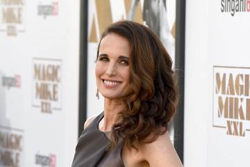 Andie MacDowell Premiere of Warner Bros. Pictures' 'Magic Mike XXL' - Red Carpet