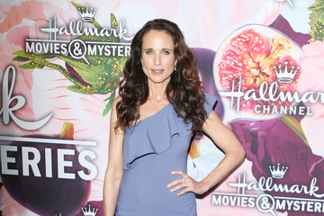 Andie MacDowell Hallmark Channel and Hallmark Movies and Mysteries Winter 2018 TCA Press Tour - Arrivals