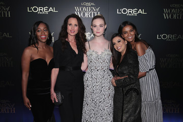 Andie MacDowell L'Oreal Paris Women of Worth Celebration 2017 - Arrivals