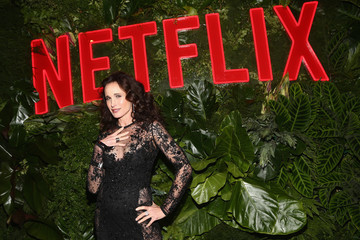 Andie MacDowell Netflix 2019 Golden Globes After Party
