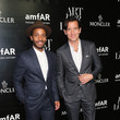André Holland Remo Ruffini, Moncler Chairman And Kevin Robert Frost, amFAR CEO Host Private Viewing And Dinner For Art For Love: 32 Photographers Interpret The Iconic Moncler Maya Jacket