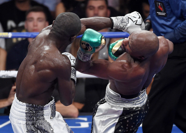 Image result for andre berto floyd mayweather