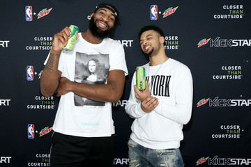 Andre Drummond Mtn Dew Kickstart Brings Fan Closer Than Courtside at Courtside Studios During All-Star Weekend