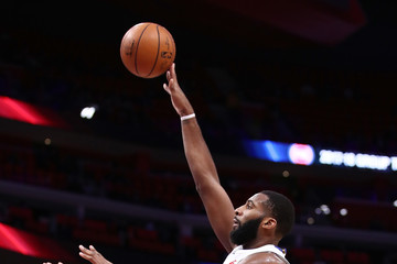 Andre Drummond Indiana Pacers v Detroit Pistons