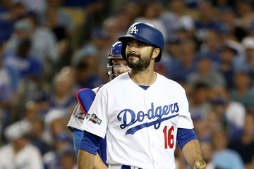 Andre Ethier NLCS - Chicago Cubs v Los Angeles Dodgers - Game Five