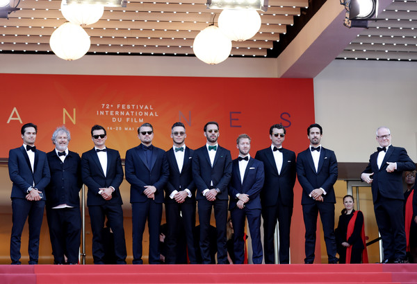 'The Traitor' Red Carpet - The 72nd Annual Cannes Film Festival [event,team,official,company,the traitor red carpet,the 72nd annual cannes film festival,screening,nelson piquet jr.,andre lotterer,leonardo dicaprio,malcolm venville,orlando bloom,jean-eric vergne,sam bird]