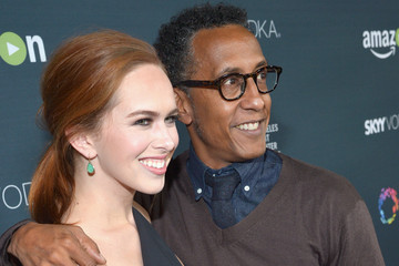 Andre Royo Elizabeth McLaughlin Red Carpet Premiere Screening For Season Two of 'Transparent'