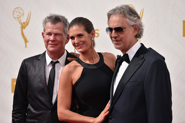 Andrea Bocelli David Foster 67th Annual Emmy Awards - Red Carpet