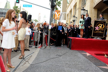 Claire Nordstrom Andrea Bocelli Honored On The Hollywood Walk Of Fame