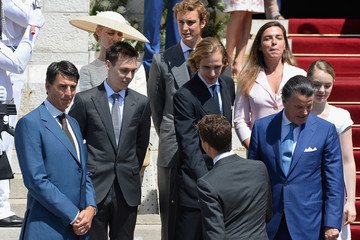 Andrea Casiraghi Baptism of the Princely Children at The Monaco Cathedral