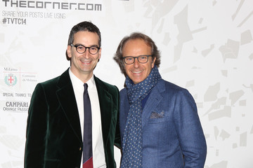 Andrea Della Valle Arrivals at the Vogue Talents Corner