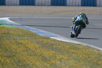 Andrea Iannone MotoGp Tests in Jerez