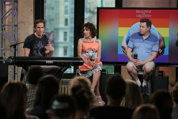 """Andrea Martin AOL Build Speaker Series - Seth Rudetsky and James Wesley, Broadway For Orlando & """"What The World Needs Now"""" Recording"""