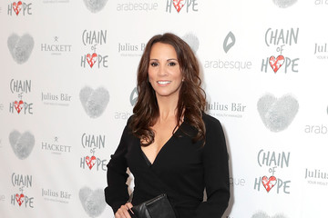 Andrea McLean Chain of Hope Gala Ball - Red Carpet Arrivals