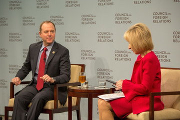 Andrea Mitchell Ranking Democrat on House Intelligence Committee Adam Schiff Speaks at Council On Foreign Relations