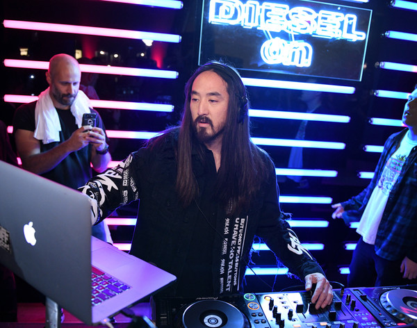 Two-Time Grammy-Nominated Producer/DJ Steve Aoki Hosts New York City Launch Event for the Diesel On Full Guard 2.5 Touchscreen Smartwatch