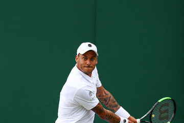 Andreas Haider-Maurer Day One: The Championships - Wimbledon 2017