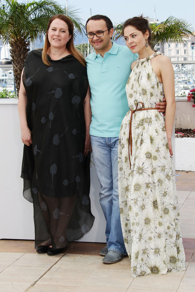 Andrey Zvyagintsev with attractive, Wife Irina Grineva