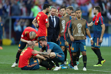 Andres Iniesta Spain vs. Russia: Round of 16 - 2018 FIFA World Cup Russia
