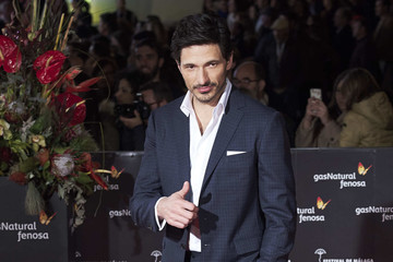 Andres Velencoso Closing Day - Red Carpet - Malaga Film Festival 2017