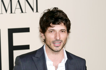 Andres Velencoso Arrivals at the Giorgio Armani SuperPier Show